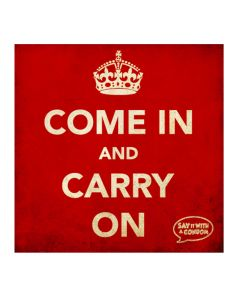 Come In And Carry On - Funny Condom
