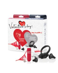 Vibrating Rechargeable Panty Set and Rechargeable Ring Set