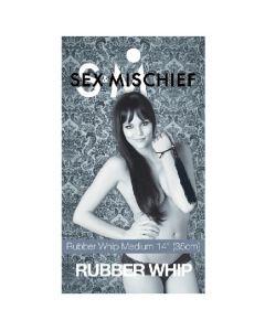 Rubber Whips - Medium - Red