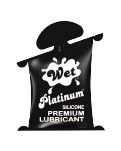 Wet Platinum Premium Lubricant - 10mL Pillow Pack