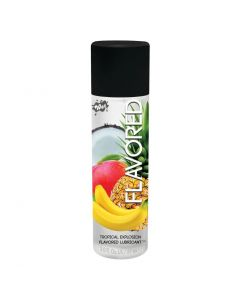 Wet Flavoured Water Based Lubricant - 3oz - Tropical Explosion
